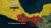 Bang Oaxaca bị thiệt hại nặng nề nhất khi có tới 23 người được xác nhận đã thiệt mạng. Ảnh: CNN