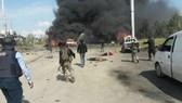 Một vụ đánh bom xe do IS thực hiện tại Syria. Ảnh: RT