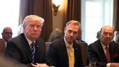 Ông Trump trong cuộc họp ở Nhà Trắng hôm 20-11. Ảnh: NYTIMES