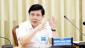 Chủ tịch UBND TPHCM Nguyễn Thành Phong  phát biểu chỉ đạo