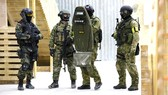 Binh sĩ thuộc lực lượng FSB Nga. Ảnh: SPUTNIK
