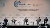 Tổng Giám đốc WTO Roberto Azevedo (phải) tại phiên khai mạc Hội nghị. Nguồn: TTXVN