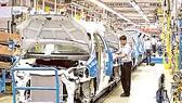 Một nhà máy sản xuất ô tô tại Ấn Độ