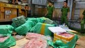 Phát hiện hơn 500kg nội tạng động vật không rõ nguồn gốc