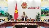 Đồng chí Trương Hòa Bình, Ủy viên Bộ Chính trị, Phó Thủ tướng Thường trực Chính phủ chủ trì phiên họp