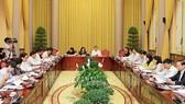 Phiên họp Ban Tổ chức Nhà nước kỷ niệm 70 năm Ngày Chủ tịch Hồ Chí Minh ra Lời kêu gọi thi đua ái quốc
