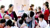 Tiêm ngừa đầy đủ để phòng tránh dịch bệnh ở trẻ em