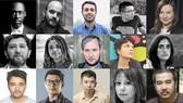 Đạo diễn Bùi Thạc Chuyên (hàng cuối, góc phải) - 1 trong 15 gương mặt được lựa chọn tham gia chương trìnhThe Atelier