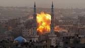 Israel không kích lực lượng Hamas ở Dải Gaza