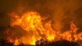 Cháy rừng bùng phát tại ở bang California. Ảnh: AP