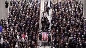 Lễ tang Thượng nghị sĩ (TNS) John McCain được tổ chức long trọng ở Nhà thờ Quốc gia