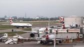 Máy bay của British Airways tại sân bay Heathrow ở London, Anh. REUTERS