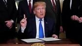 Tổng thống Mỹ Donald Trump. Ảnh: REUTERS