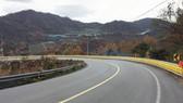 Hệ thống rào chắn bánh xoay khu vực Dốc Cun được lắp đặt với độ dài 150m. Nguồn: VTC