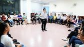 Sinh viên Trường ĐH Công nghiệp thực phẩm TPHCM trong giờ học về khởi nghiệp, đổi mới sáng tạo