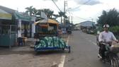 Người dân phát hiện, thông tin cho chính quyền về các ki-ốt  xây dựng sai phép trên đường Lê Thị Kim