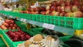 Trong tháng 4, sản lượng trái cây nhập tại Bách hóa Xanh đã tăng tới 300% so với tháng 3.