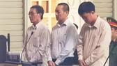 Các bị cáo nghe tuyên án
