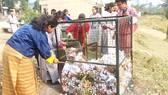 Một chiến dịch dọn rác tình nguyện ở Bhutan