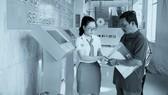 Bệnh nhân đăng ký khám chữa bệnh thông qua hệ thống kios