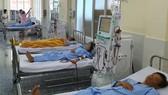 Bệnh nhân đang chạy thận nhân tạo tại Bệnh viện Quận 9