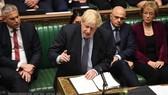 Đảng Bảo thủ của Thủ tướng Anh Boris Johnson đã mở rộng khoảng cách trước Công đảng đối lập. Nguồn: TTXVN