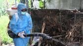 Hiện nay việc phòng chống dịch SXH chủ yếu vẫn là diệt lăng quăng và phun hóa chất diệt muỗi