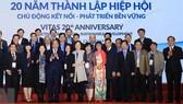 Thủ tướng  Nguyễn Xuân Phúc và các đại biểu dự lễ. Ảnh: TTXVN