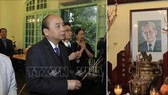 Thủ tướng dâng hương, tưởng nhớ các đồng chí lãnh đạo tiền bối của Đảng, Nhà nước