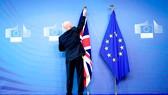 Lễ hạ cờ Anh ở Brussels đánh dấu Anh rời EU
