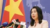 Bà Lê Thị Thu Hằng, Người phát ngôn Bộ Ngoại giao. Nguồn: BAOQUOCTE.VN