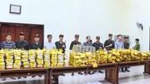 Tang vật ma túy đá và heroin bị bắt giữ trong một chuyên án