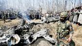 Máy bay Ấn Độ rơi ở Srinagar, Kashmir trong cuộc xung đột với Pakistan tháng 2-2019
