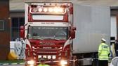 Chiếc xe tải trong vụ việc ở Essex. Ảnh: PA