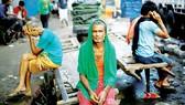 Người lao động thất nghiệp tại New Delhi, Ấn Độ trong mùa dịch Covid-19