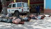Nhóm lính đánh thuê bị Venezuela bắt giữ. Nguồn: AP