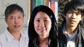 Ba nhà khoa học được nhận Giải thưởng Tạ Quang Bửu năm 2020. Nguồn: NGUOILAMBAO.VN