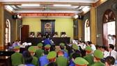 Một phiên tòa xét xử vụ gian lận thi cử ở Sơn La