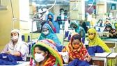 Các công nhân dệt may ở Bangladesh