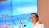 Phó Tổng KTNN Đoàn Xuân Tiên phát biểu. Ảnh:VGP