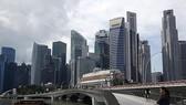 Một góc khu phố tài chính của Singapore. Ảnh:REUTERS