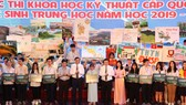 Khai mạc cuộc thi KHKT trung học cấp quốc gia năm 2019-2020