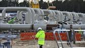 Công trình lắp đặt đường ống trong dự án Dòng chảy phương Bắc 2 tại Lubmin, miền Đông Bắc Đức ngày 26-3-2019. Ảnh: TTXVN