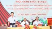 Thanh tra Chính phủ (TTCP) tổ chức hội nghị trực tuyến sơ kết công tác 6 tháng đầu năm, triển khai nhiệm vụ công tác 6 tháng cuối năm 2020. Nguồn: thanhtravietnam.vn