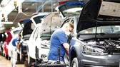 Nhà máy sản xuất ô tô tại Wolfsburg,Đức