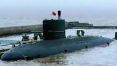 Mẫu tàu ngầm Thái Lan đặt mua của Trung Quốc. Ảnh: BANGKOK POST