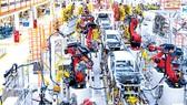 Xưởng sản xuất ô tô tại Mỹ