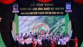 Tôn vinh 80 thương hiệu vàng của nông nghiệp Việt Nam