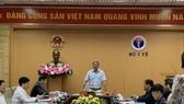 PGS.TS Nguyễn Trường Sơn- Thứ trưởng Bộ Y tế phát biểu tại hội nghị. Ảnh: BỘ Y TẾ