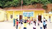 Tập đoàn Xây dựng Hòa Bình tài trợ xây điểm Trường Cốc Diển tại Bắc Kạn